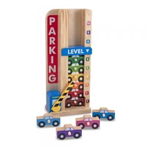 Parking/garaż do nauki liczenia