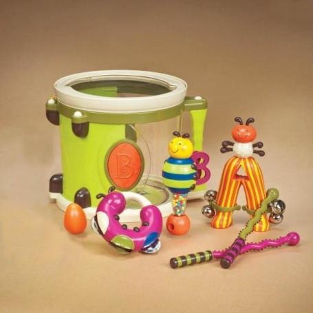 Bębenek z instrumentami, B.Toys.jpg