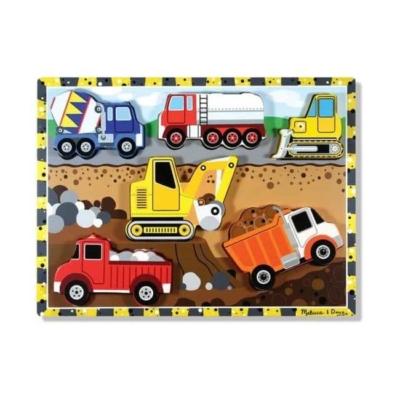Drewniane puzzle - Pojazdy budowlane.jpg