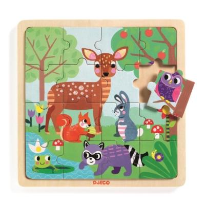 Edukacyjne puzzle drewniane Las.jpg