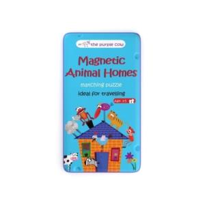 Gra magnetyczna The Purple Cow - Puzzle Zwierzęta .jpg