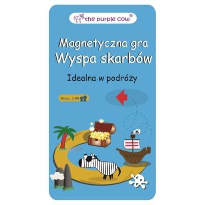 Gra magnetyczna The Purple Cow - Wyspa Skarbów.jpg