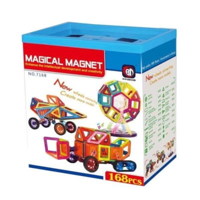 Klocki Magnetyczne - Magical Magnet 168 el.jpg