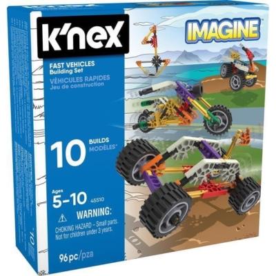 Klocki konstrukcyjne K'nex Imagine-Szybkie pojazdy.jpg