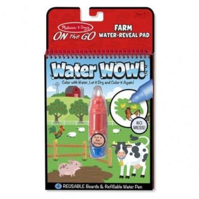 Kolorowanka wodna Water WOW - Farma.jpg