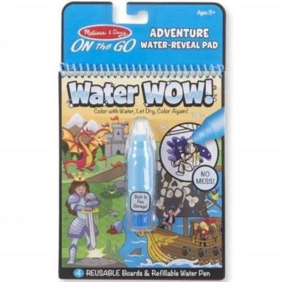 Kolorowanka wodna Water WOW - Przygody .jpg