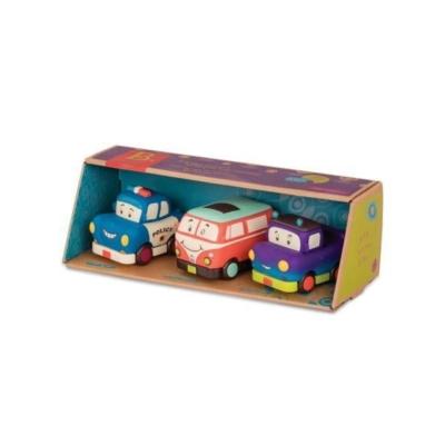 Mini autka z napędem (z pick-upem), B.Toys.jpg