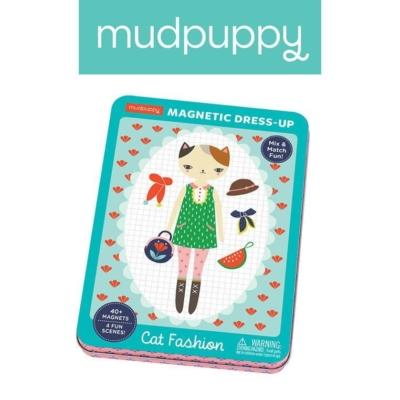 Mudpuppy Magnetyczne postacie - Kocie modelki 4+.jpg