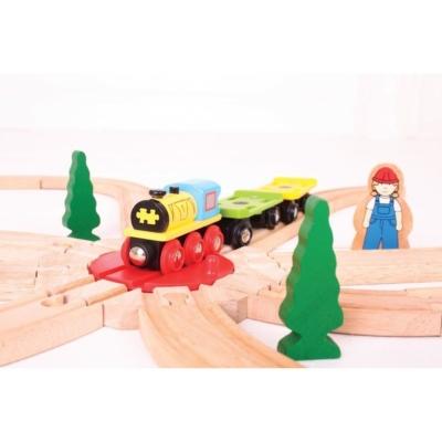 Obrotnica na 8 torów do kolejki drewnianej.jpg