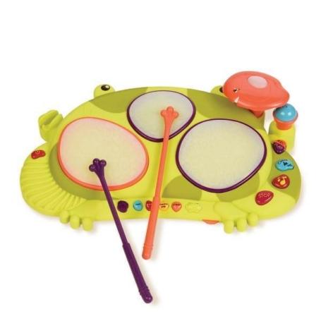 Perkusja żabka, B.Toys.jpg