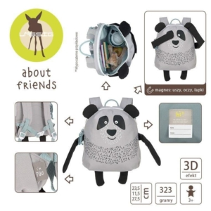 Plecak About Friends z magnesami Panda Pau.jpg