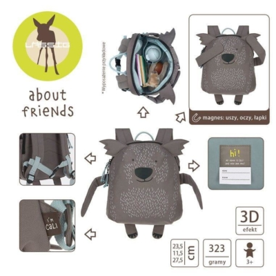 Plecak About Friends z magnesami Wombat Cali .jpg