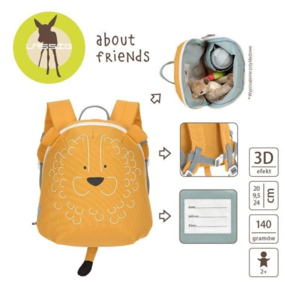 Plecak mini About Friends Lew.jpg