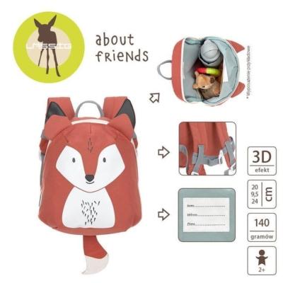 Plecak mini About Friends Lisek.jpg