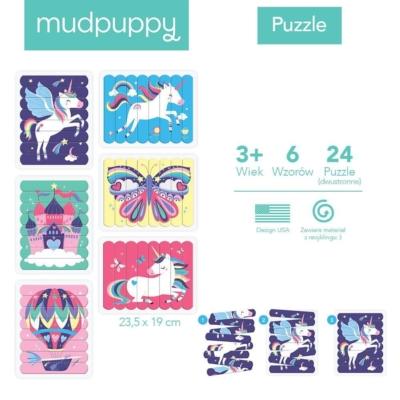 Puzzle Patyczki Magiczne jednorożce 24 elementy.jpg