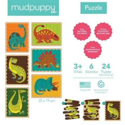 Puzzle Patyczki Potężne dinozaury 24 el.jpg