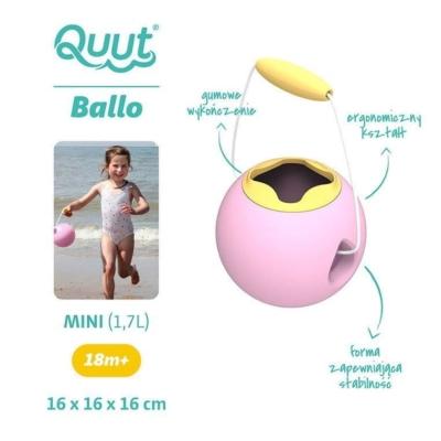 QUUT Małe wiaderko wielofunkcyjne Mini Ballo Sweet.jpg