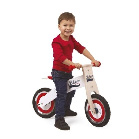 Rowerek biegowy biały Bikloon.jpg