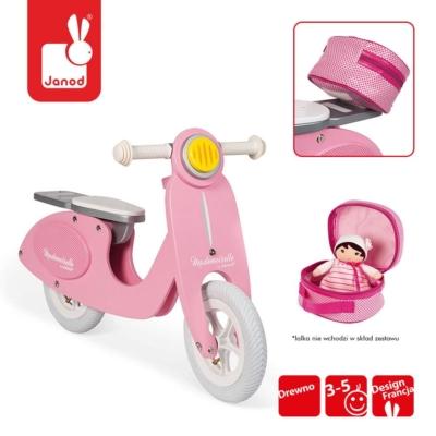 Rowerek biegowy różowy Scooter Mademoiselle.jpg