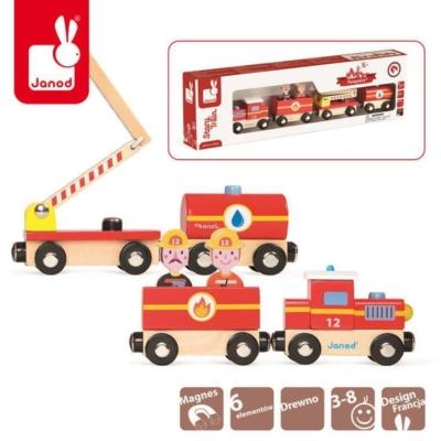 Straż pożarna pociąg drewniany, Janod.jpg