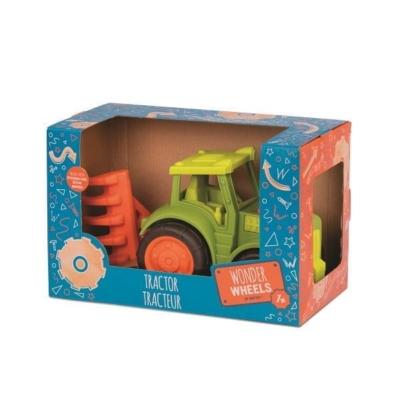 Traktor z broną, Wonder Wheels.jpg