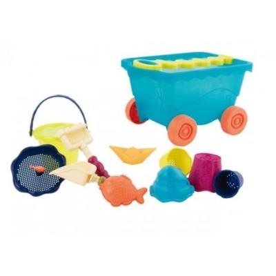 Wózek-wagon z akcesoriami plażowymi – niebieski.jpg