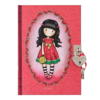Zamykany pamiętnik Santoro - Gorjuss Every Summer .jpg