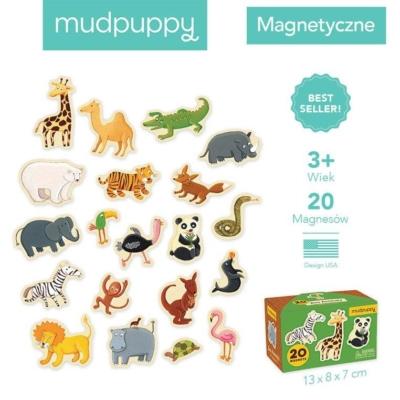 Zestaw magnesów Zwierzęta z zoo 20 elementów.jpg