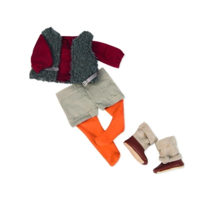Zestaw ubranek DELUXE dla lalek OG - szorty .jpg
