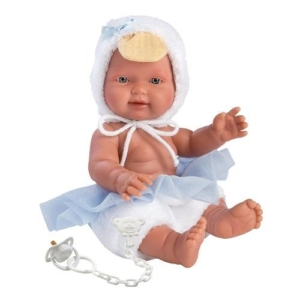 Hiszpańska lalka bobas chłopiec Bebito Kaczątko.jpg