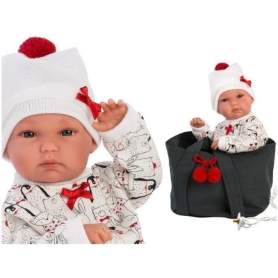 Hiszpańska lalka bobas dziewczynka Bimba z nosideł.jpg