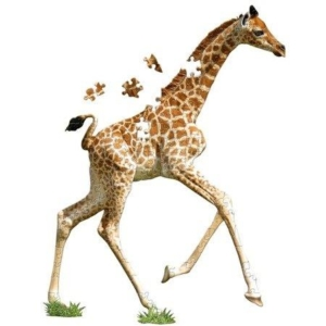 Puzzle I AM LIL' - GIRAFFE - Żyrafa.jpg