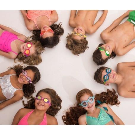 Okulary do pływania - Pastelowe serduszka.jpg