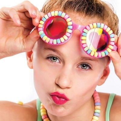 Okulary do pływania - Pudrowe cukierki.jpg