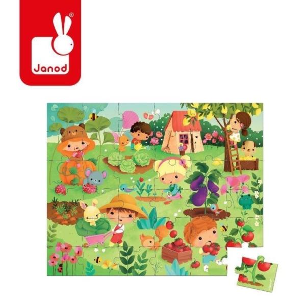 Plakat Ogród do ułożenia puzzli